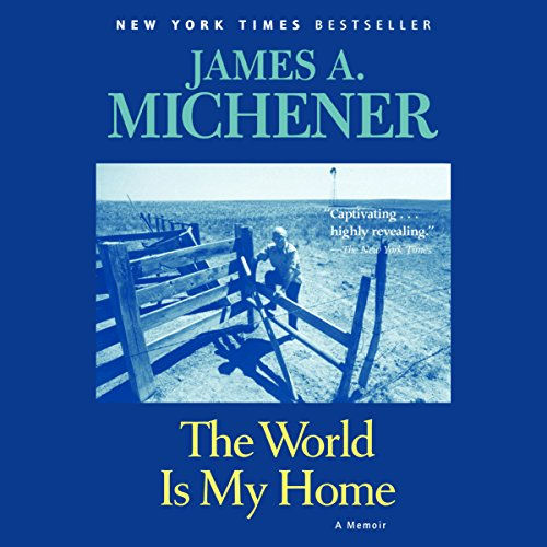 The World Is My Home audiobook cover art