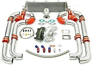 Universal Turbocharged Upgrade T04E T3 7pc Turbo Kit