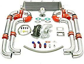 Universal Turbocharged Upgrade T04E T3 7pc Turbo Kit