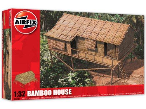 Airfix - Kit per modellismo, Soggetto: casa di bambù, Scala 1:32