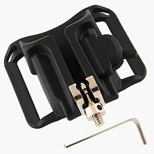 SOOJET Cintura de Cámara Tiro Rápido, Cámara Cinturón Clip Holster, Plástico Duro Correa de Cinturón Presilla Hebilla para Canon Nikon Sony DSLR