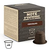 Note d'Espresso Chocolate Capsules 7g x 40 Capsules Exclusively Compatible with Nespresso* machines