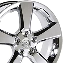 OE Wheels 18 Inch Fits Lexus ES GS HS IS LS RX SC Toyota Avalon Camry Matrix Rav4 Sienna RX 330 Style LX03 Chrome 18x7 Rim Hollander 74171