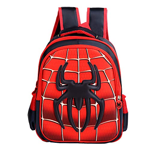 Spider backpack Durable Kindergarten Toddler backpack Child Book Bag Cartoon School Bags for Kid Children Elementary Student Bookbags