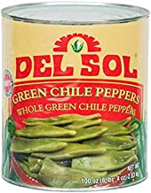 Del Sol Whole Green Chiles #10 Can By TableTop King