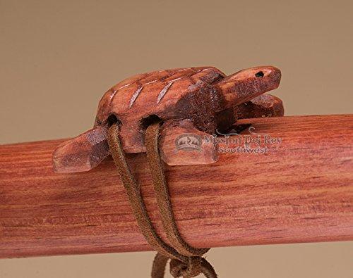 Native American Navajo Flute Package -Cherry Turtle
