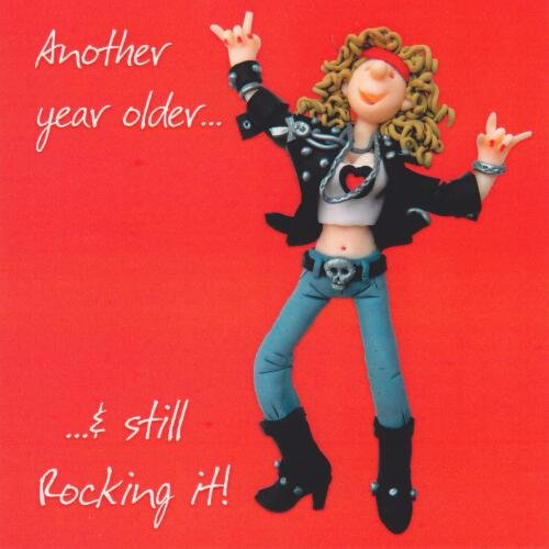 Still Rocking It Birthday Card One Lump or Two Holy Mackerel Greeting Cards