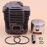 Tiempo Beixi 41,5 mm Cilindro de Aros de pistón Circlip Kit for Kawasaki TH43 TH430 KBH43A Trimmer Desbrozadora Pieza del Motor