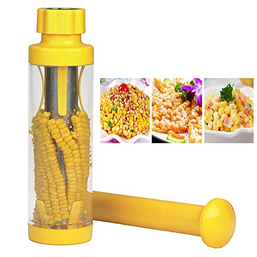 ACOMG Deluxe Corn Stripper,Corn Slicer Peeler Thresher and Cob Corn Stripper Tool, Multifunctional Corn Peeler Cutter Kitchen Gadget,Non Slip