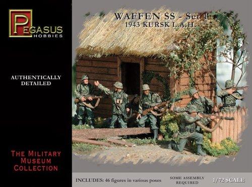 Pegasus PG7201 - 1/72 WW II : Soldats allemands 1943