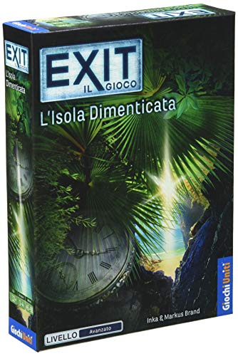 Exit: L'Isola Dimenticata - Escape Room da tavolo | Giochi Uniti