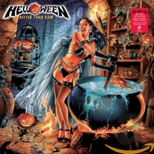 Helloween: Better Than Raw (Audio CD (Limited Edition))