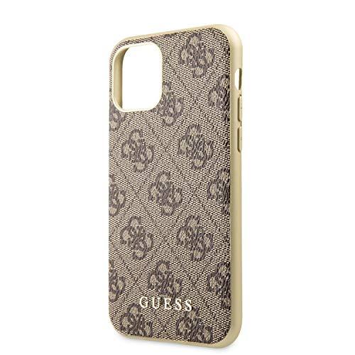 Guess GUHCN61G4GB 4G Kollektion Cover Hülle für das iPhone 11, braun