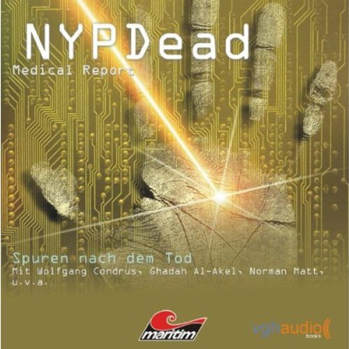 Spuren nach dem Tod (NYPDead - Medical Report 3) audiobook cover art