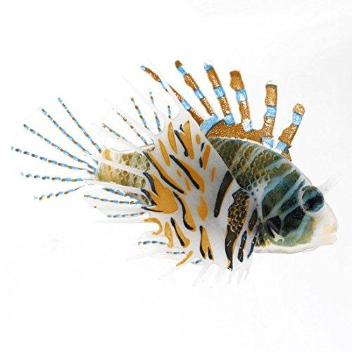 SODIAL(R)Aquarium Kunststoff Schwimmender Schwanz Feuerfisch Ornament