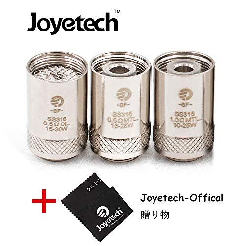 BF SS316 0.5ohm/0.6ohm/1.0ohm ジョイテック Joyetech BF 交換用コイル CUBIS/eGO AIO/Cuboid Mini アドマイザー 電子タバコ用(5pcs/pack) (BF SS316-0.5ohm (5pc