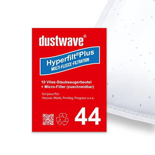 Sparpack - 10 stofzuigerzakken geschikt voor Miele - Complete C3 Comfort Electro EcoLine Plus stofzuiger van dustwave® merkstofzak - Made in Germany incl. microfilter