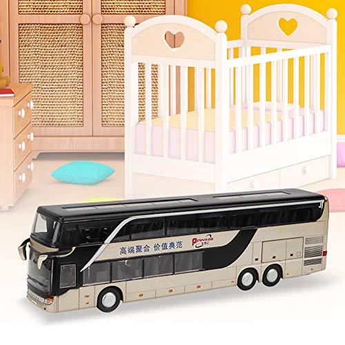 Caredy Vehículos de Regalo Juguete Mini autobús eléctrico Juguete, Modelo de Coche...