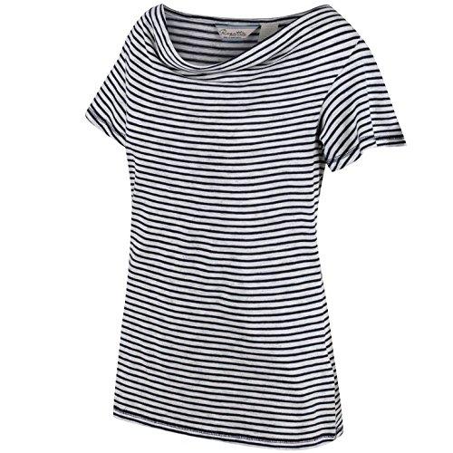 Regatta pour Femme Francheska t-Shirts/Polos/Gilet L Bleu Marine