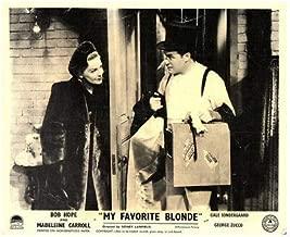 My Favorite Blonde Original Lobby Card Bob Hope Madeleine Carroll 1942 Comedy