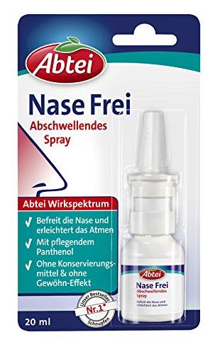 Abtei Nase Frei Abschwellendes Nasenspray, 20 ml