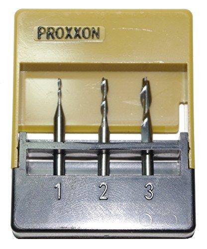 PROXXON 27116 Vollhartmetall - Schaftfräser - Satz, 3 - teiliger Satz