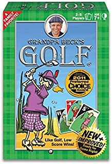 Grandpa Beck's Golf Card Game | A Fun Family-Friendly Strategy Game | Enjoyed by Kids, Teens and Adults | from The Creators of Cover Your Assets | Table or Travel Game | Ideal for 2-5 Players Ages 8+