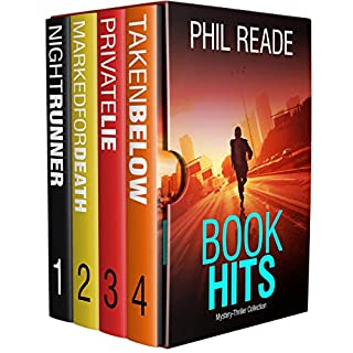 Book Hits: Gripping Short Thrillers Collection audiobook cover art