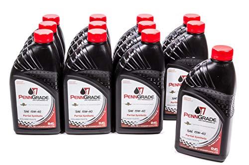 Brad Penn Oil 009-7158-12PK 15W-40 Racing Oil - 1 Quart Bottle, (Case of 12)