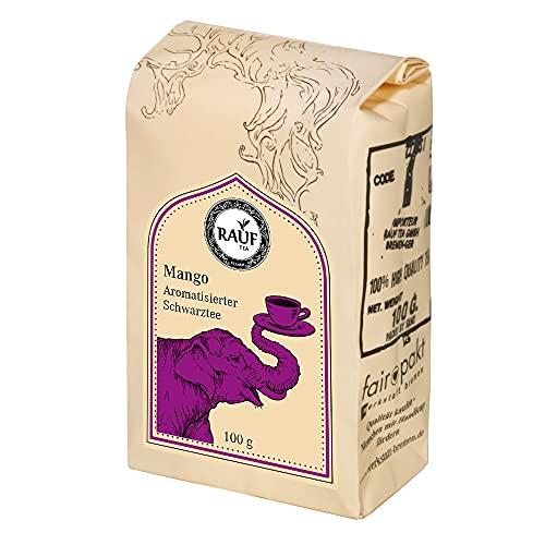 Rauf Tee aromatisierter Schwarztee-Mango -2x100g