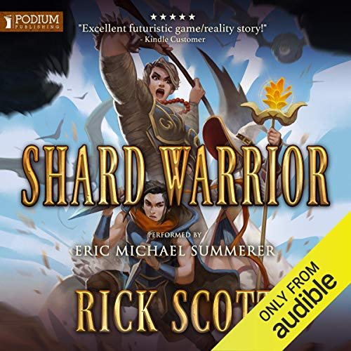 Shard Warrior audiobook cover art
