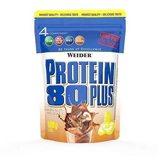 WEIDER Protein 80+ Noisette Nougat 500 g