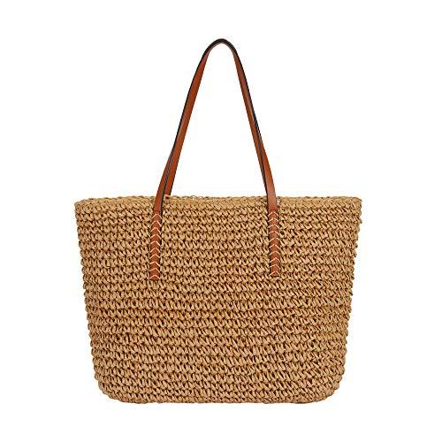 Parfois - Bolso Shopper Carpet Total Look - Mujeres - Tallas M - Palha