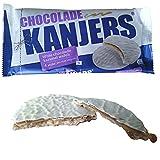 Kanjers holandesa chocolate blanco Stroopwafels Caramelo Galletas 180G