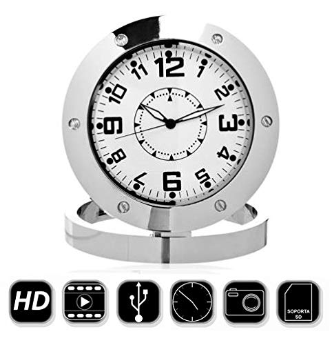 Electrolandia Reloj Sobremesa Camara Espia HD