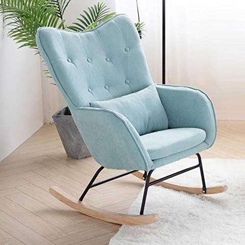 Stoel LKU Balkon massief houten schommelstoel lounge stoel luie vrije tijd volwassen schommelstoel siësta vrije stoel, oudeboer2