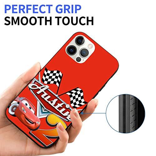 Diseñado para iPhone 12, diseño de animación compatible con iPhone 12pro Max/12mini funda, suave TPU Bumper Case