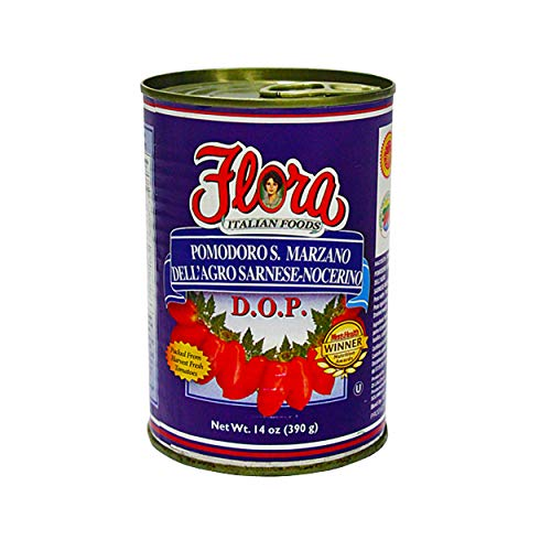 Tomatoes San Marzano D.O.P by Flora Foods (14 oz.)