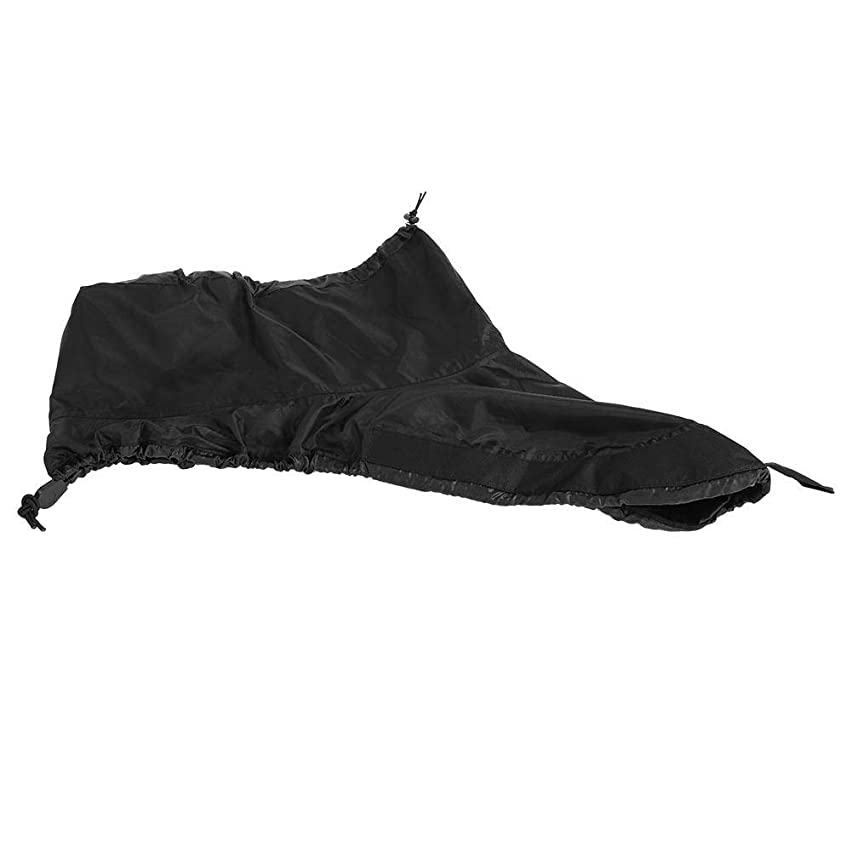 素子新しい意味発揮するカヤックコックピットカバー カヌー カヤックコックピット デッキカバー ボート スカートカバー 防水 耐久性 黒