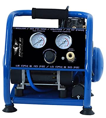 Eagle Silent Series Air Compressor with panel