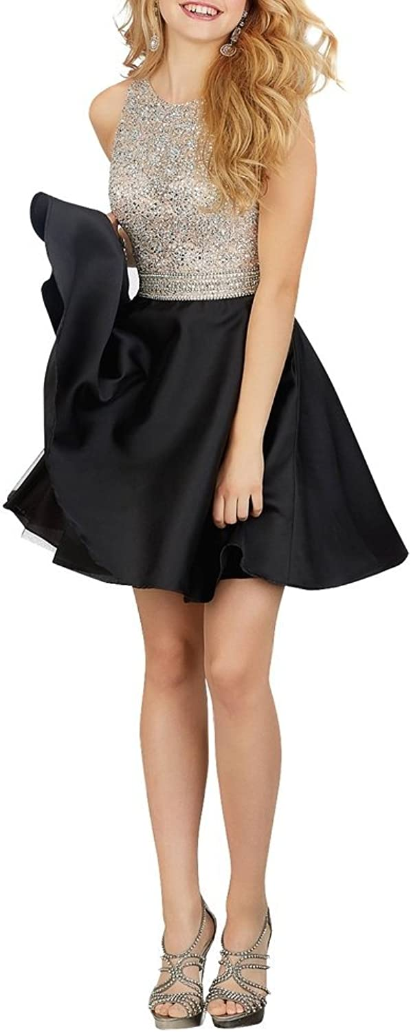 La Mariee Sparkle Shine Short Mini Homecoming Dresses With Beading Sequins 2016 New