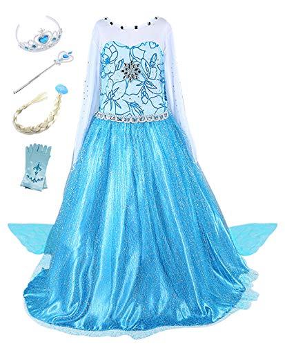 Costume reine des neige princesse Elsa