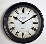 Carolina Gray Wall Clock, Available in 8 Sizes, Most Sizes Ship The Next Business Day,
