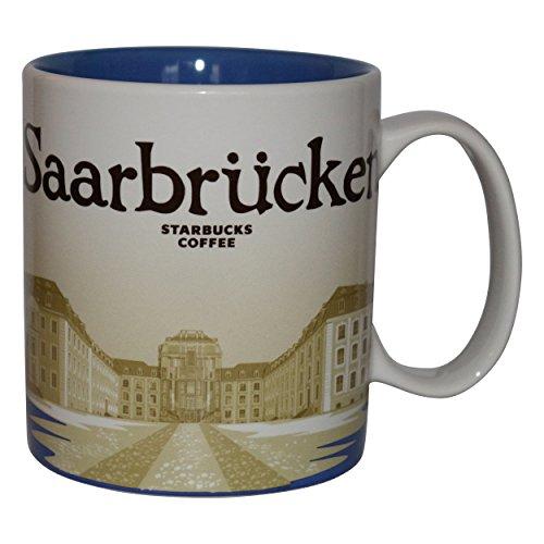 Starbucks City Mug Saarbrücken Germany Icon Serie Coffee Cup Tasse