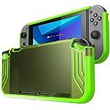 Custodia Mumba Nintendo Switch, [Slimfit Series] Premium Custodia protettiva ibrida sottile per Nintendo Switch 2017 (VERDE)