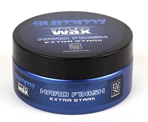 Fonex Gummy Styling Wax Hard Finish Extra Stark 150ml Haarwachs Haarwax Stylingwax Stylingwachs (1 Stück)