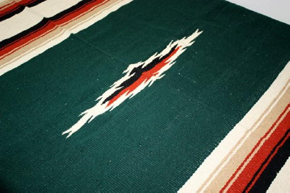 火傷やむを得ないヒップEl Paso Saddle Blanket エルパソ ダイヤモンド ブランケット (OLIVE GREEN)