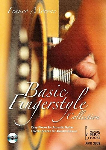 Basic Fingerstyle Collection.: Leichte Stücke für Akustik Gitarre. Mit CD / Easy Pieces for Acoustic Guitar. CD included