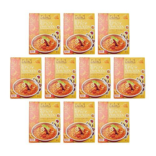 神戸アールティー スパイシーチキンカレー (180g×10個)