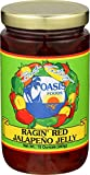 oasis foods company - Oasis Foods Ragin' Red Jalapeno Jelly - 10 oz